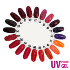 UV Polish Gel - hybrid gél lakk 017.