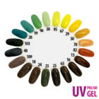 UV Polish Gel - hybrid gél lakk 026. - french white