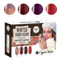 Trend Colors Winter one step CrystaLac készlet - 4x3ml