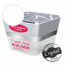 Crystal Nails Babyboomer - White építőzselé 15ml