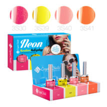 Neon 4Colors4Display 3step CrystaLac készlet - 4x4ml