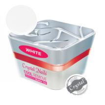 Crystal Nails COOL REMOVE - White építőzselé 15ml