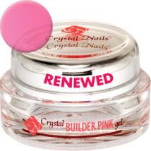 Crystal Nails Builder Pink I. Renewed gel  - Körömágymagasító átlátszó rózsaszín építő zselé - 5ml