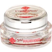 Crystal Nails Builder White I.  - Fehér szupersűrű építő I. -  15ml
