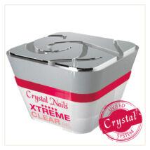 Crystal Nails Xtreme Clear - Átlátszó, sűrű, bivalyerős építő - 50ml