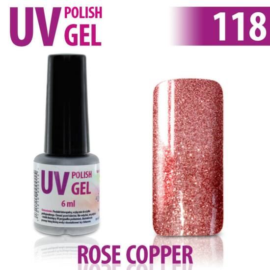 UV Polish Gel - hybrid gél lakk 118. 15ml
