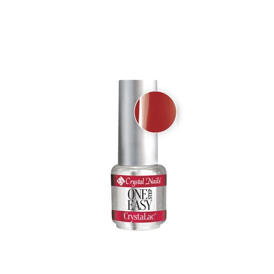 One Step Easy CrystaLac E2 - klasszikus piros - 4ml