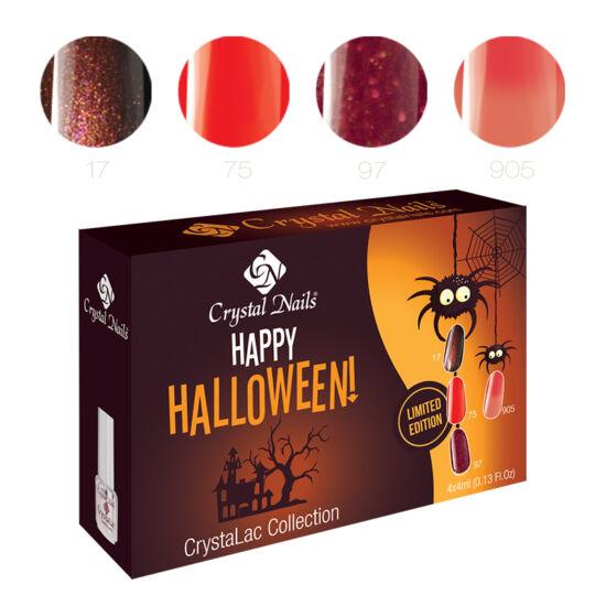Happy Halloween 3 step (klasszikus) CrystaLac készlet - 4x4ml