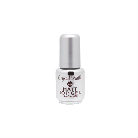 Crystal Leoldható UV Matt Top Gel - 4ml