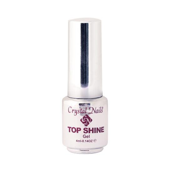 Crystal Top Shine átlátszó fényzselé (clear) - 4ml