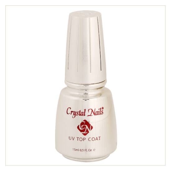 Crystal UV Top Coat - UV fedőlakk - 15ml