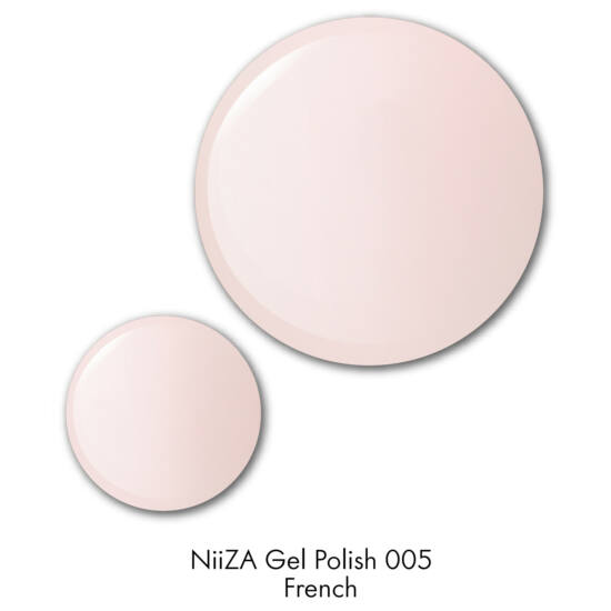 NiiZA Gel Polish 7ml - 005 French