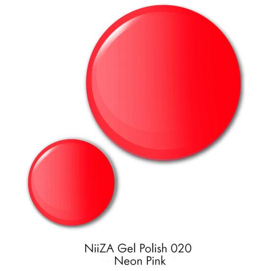 NiiZA Gel Polish 7ml - 020 narancsos NEON