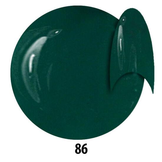 INS gél lakk 86. Zöldeskék