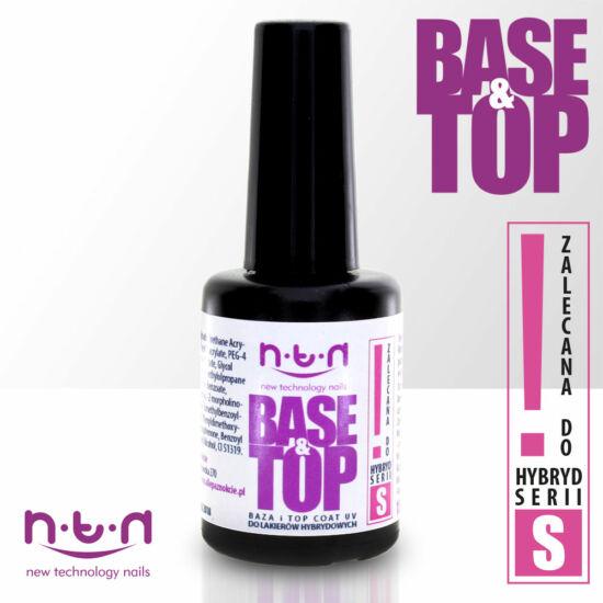 NTN UV base&top gél lakk alap és fedőlakk 15ml (S)