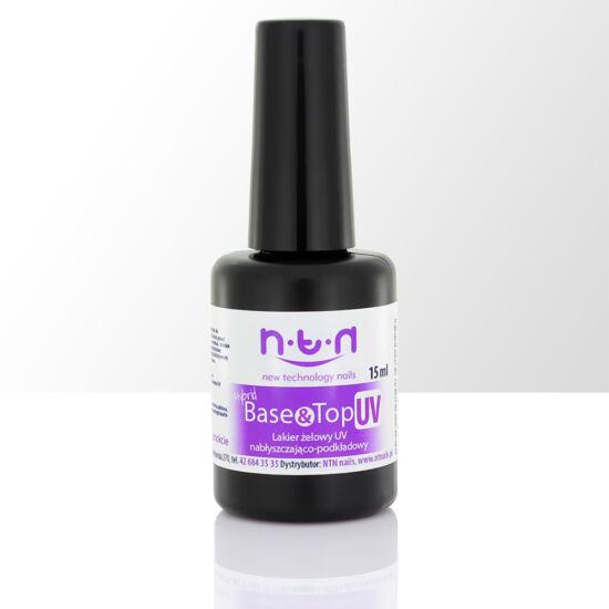NTN hybrid UV base&top gél lakk alap és fedőlakk 15ml