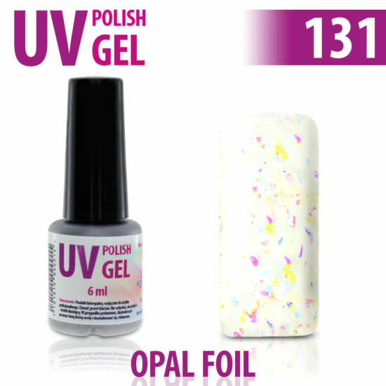 UV Polish Gel - hybrid gél lakk 131.