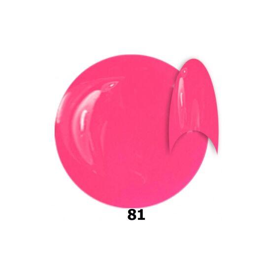 INS gél lakk 81. pink shine 15ml