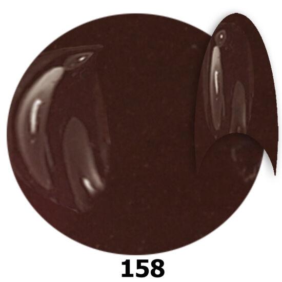 INS gél lakk 158. sötétcseresznye barna