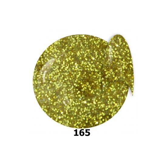 INS gél lakk 165. arany glitter