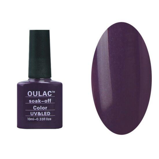 Oulac gél lakk 24 - gyöngyház mély lila - fedő
