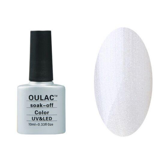 Oulac gél lakk 32 - ezüstmetál - fedő