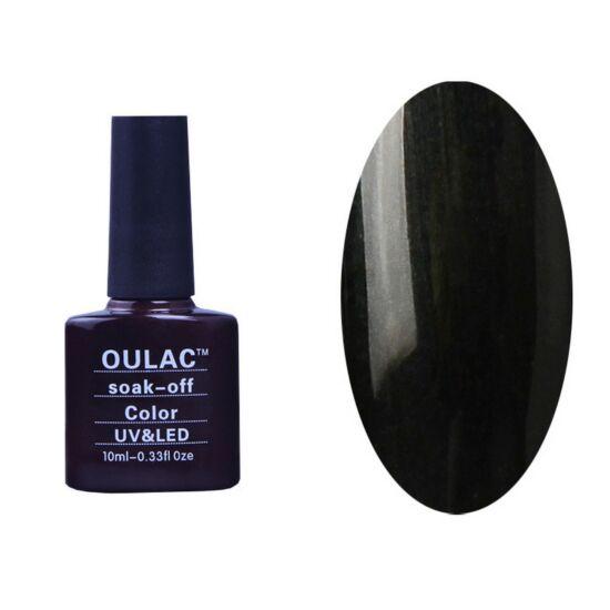 Oulac gél lakk 40 - gyöngyház szürkés fekete - fedő