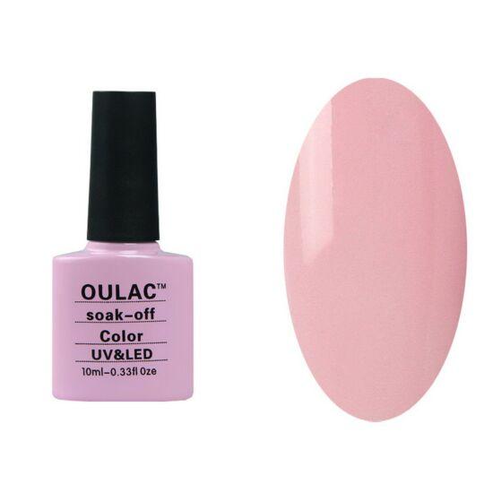 Oulac gél lakk 47 - baby pink - fedő