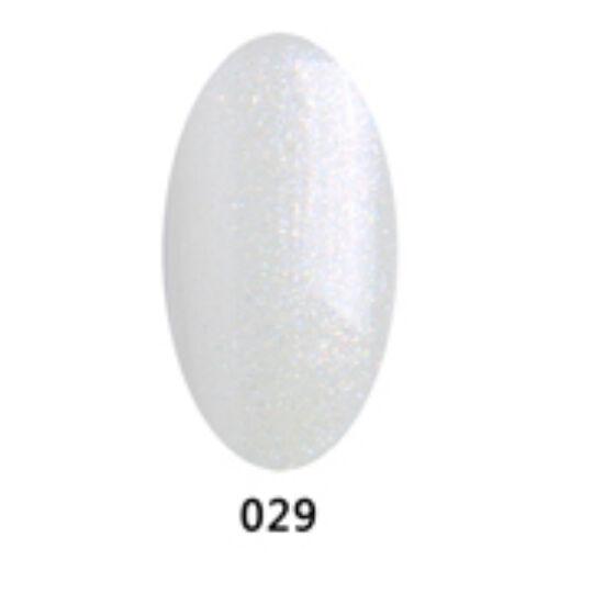 S&A gél lakk 10ml 029 - csillám effect színtelen alapban