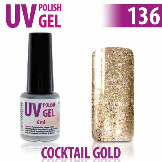 UV Polish Gel - hybrid gél lakk 136.