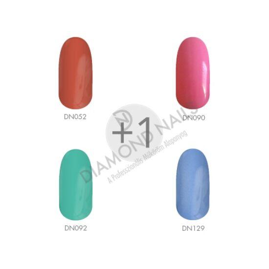Zselé Lakk - Tavaszi Színek I. 4+1  Diamond Nails