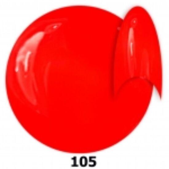 INS gél lakk 105. neon piros 15ml
