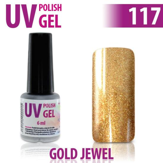 UV Polish Gel - hybrid gél lakk 117.