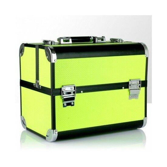 Műkörmös táska - neon sárga