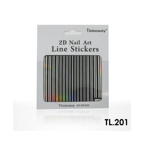 Körömdíszítő sablon TL201