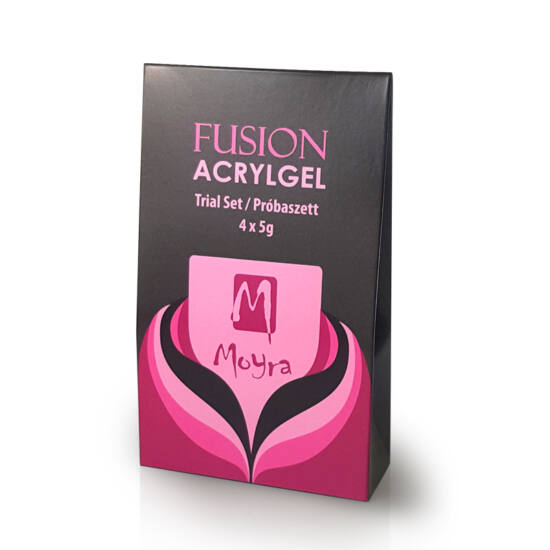 Moyra Fusion AcrylGel Próbaszett 4x5 g