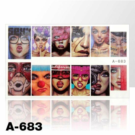 Körömmatrica A-683