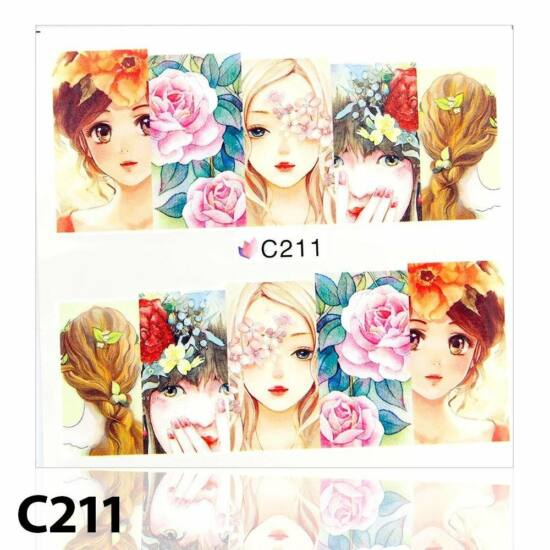 Körömmatrica C211