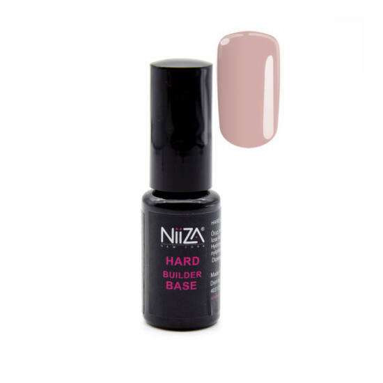 NiiZA Hard Builder Base Gel Dark Pink 7ml