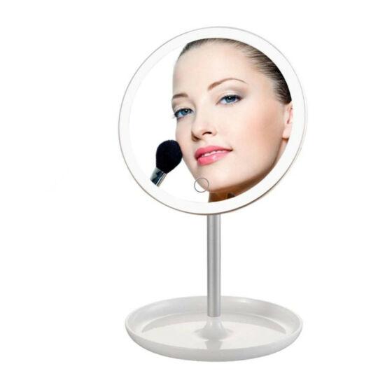Kozmetikai tükör LED világítással 3W fehér