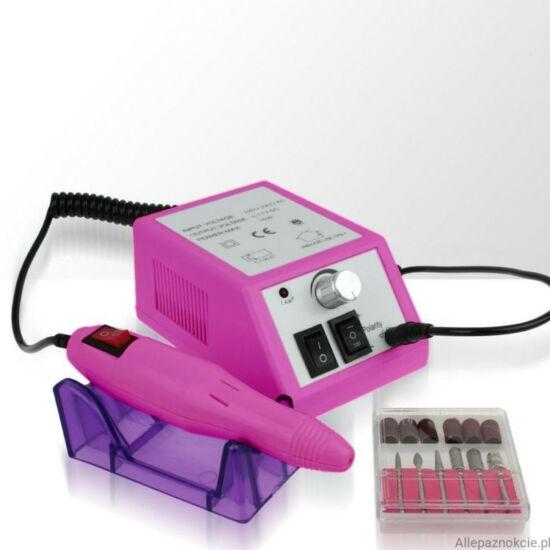 Professzionális műköröm csiszológép CT 1203 rózsaszín