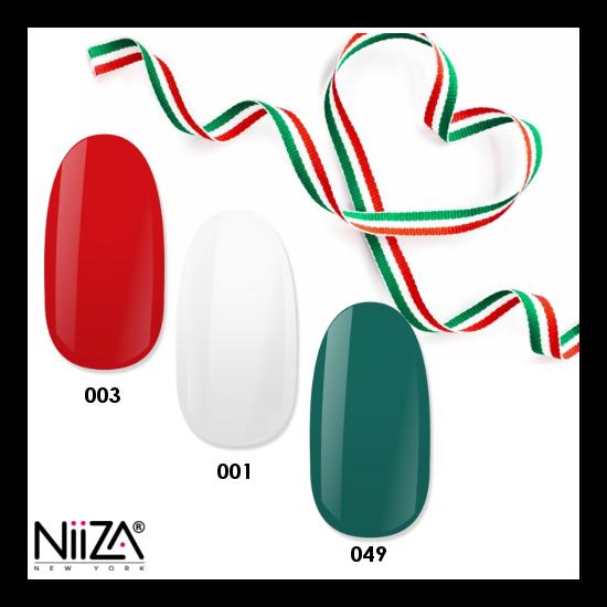 NiiZA Gel Polish Nemzeti TRIÓ 001,003,049 (3x4ml)