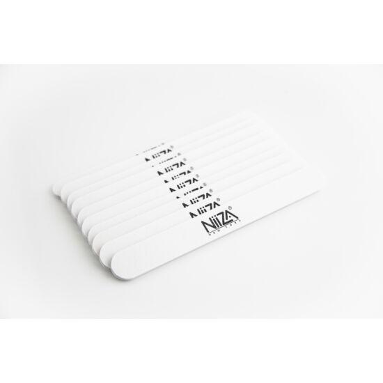 NiiZA Reszelő egyenes fehér 100/180 (10db)