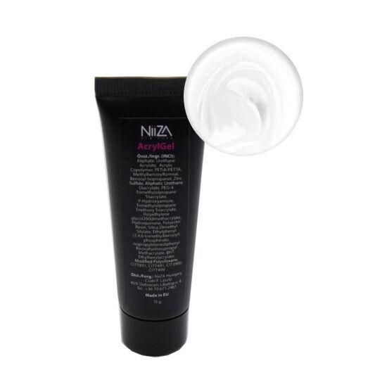 NiiZA AcrylGel - White 15g (tubus)