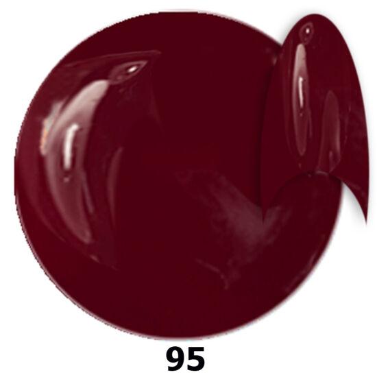 INS gél lakk 95. borvörös