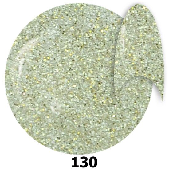 INS gél lakk 130. ezüstös glitter