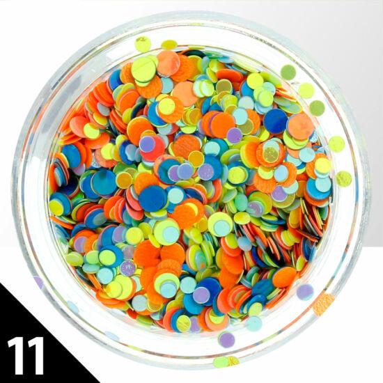 Kerek fólia mix 11.