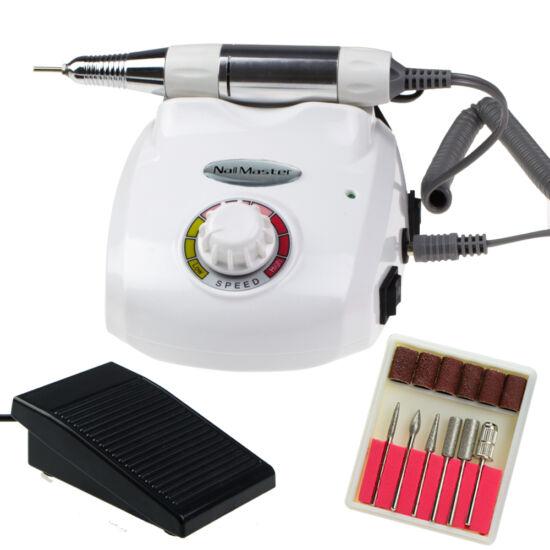 Professzionális műköröm csiszológép DM-208 (35 W - Fehér)