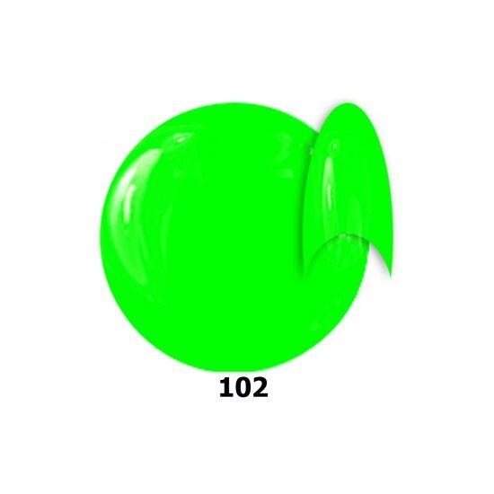 INS gél lakk 102. neon zöld