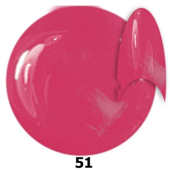 INS gél lakk 51. rózsaszín
